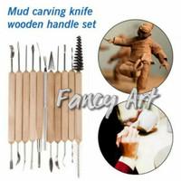 Clay Sculpting Pottery Wax Carving Tools set 11 Art Craft Clay Tool
