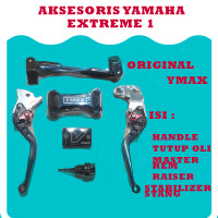 Aksesoris Vixion Original YMAX - Warna Hitam