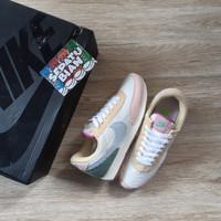 Sepatu Nike Daybreak Sail Corduroy Blue Pink Size 36-40
