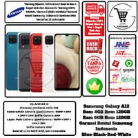 Samsung Galaxy A12 4/128 6/128 6GB/128GB Resmi Black Red Blue White
