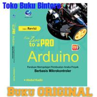 Buku From Zero to A Pro Arduino +CD ANDI Abdul Kadir ORIGINAL