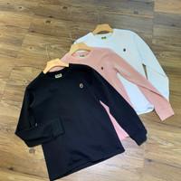 Kaos Lengan Panjang BAPE Small Logo Long Sleeve - Hitam, M