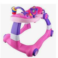 babyelle baby walker 2 in 1 pink