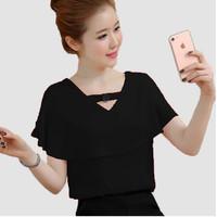 FortKlass VIERRA Baju atasan blouse wanita lengan Pendek