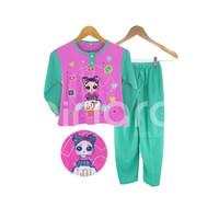 Setelan Anak Cewek/Perempuan/Piyama Setelan Model LOL