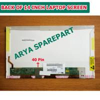 Layar LED LCD Asus A53 A53B A53F A53S A53SV A53T Series 14 inch
