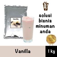 Vanilla flavor drink powder. bahan minuman bubuk. kualitas bagus