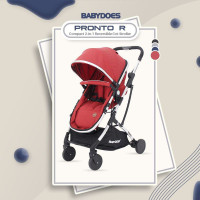 Makassar! Stroller Baby Does CH-2222 Pronto Reversible Cabin Size