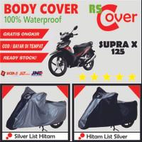 Body Cover SUPRA X/FIT/125 Waterproof Sarung Motor Honda Bebek Premium