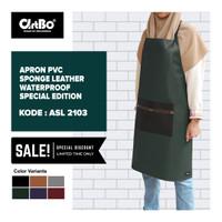 Apron / Celemek PVC Sponge Leather Waterproof Special Edition