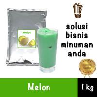 Melon flavor drink powder. bahan minuman bubuk. kualitas bagus