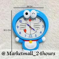 Jam Dinding Doraemon Besar DM 01 FREE BATERAI