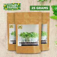 Benih Sayur Microgreens Pak Choy / Green Mustard (25 gram)