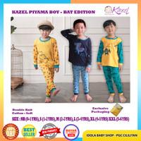 Kazel Piyama Boy Bat Edition 3pcs Setelan Baju Panjang Celana Panjang