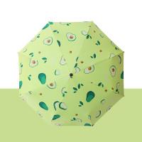 Payung Lipat Otomatis Buah Pastel Buka Tutup Loko Lapisan Anti UV