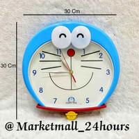Jam Dinding Doraemon Besar DM02 FREE BATERAI