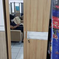 Lemari Pakaian 2 Pintu Merk Pro Design Kode VLWD 2M W