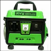 RYU Mesin Genset Green 1000 Watt / Gasoline Generator Set RS1300