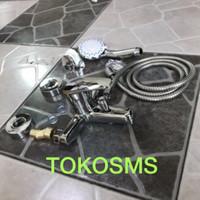 kran batub/shower panas dingin untuk water heater ariston, modena , dl