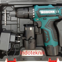 CORDLESS MODERN M12V MESIN BOR BATERAI MODERN M 12V
