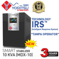 Stabilizer Listrik 10000 watt Yoritsu MDX Digital 1 Phase