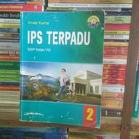 buku IPS terpadu SMP kelas 8 penerbit Yudhistira