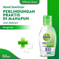 DETTOL - Hand Sanitizer 50 ml | Dettol Sanitizer | Dettol Antiseptik