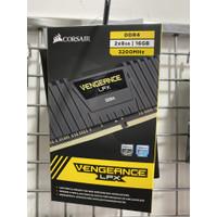 DDR4 16GB (8gbx2) CORSAIR VENGEANCE PC 3200