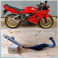 Knalpot Ninja R & RR Ahau1 Special Standar Racing 100% Original Ahau