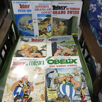 Paket 7 Buku Komik Asterix Pustaka Sinar Harapan Bayi Gothi Sabit