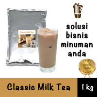 Classic Milk Tea drink powder. bahan minuman bubuk. kualitas bagus