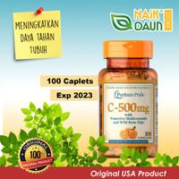 Puritan Pride Vitamin C 500 mg - 100 Caplets