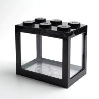 Aquarium Mini Lego TOPINCN Block 4 Side 12.8x8.5x11cm
