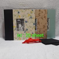 Album foto kolase/magnetic/jumbo/20 sheet