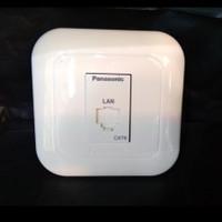 Set Outlet Data Modular Jack CAT6 Panasonic WEJ24886 24886 Internet