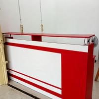 meja kantor model Lurus pjg 2meter