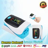 Oximeter Fingertip Pulse Alat Kesehatan Kadar Oksigen Detak Jantung