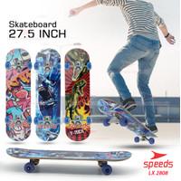 Skateboard Remaja Dewasa Olahraga Skate Board Atas Motif 2808 - Dinosaurus