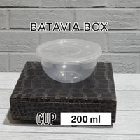 Cup puding/salad buah 200 ml