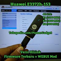 Modem USB Huawei E3372 E3372h-153 All UNLOCK 3G 4G Semua Operator