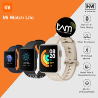 Xiaomi Mi Watch Lite Smartwatch - Garansi Resmi Xiaomi Indonesia - Biru, Distributor