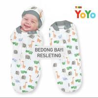 Bedong Bayi / Bedong Bayi Instan / Bedong Bayi Resleting /Bedong Baby