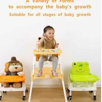 High Chair Right Start 5 in 1 2376 / Kursi Makan bayi