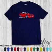 Kaos/Baju Distro/Tshirt Nissan Skyline GTR R34 Red