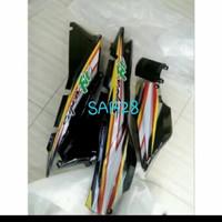 Cover body belakang supra fit lama+striping