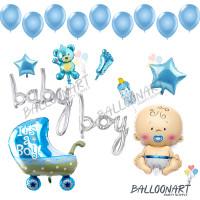 BABY LINK BALON FOIL DEKORASI SET/BALON BABY SHOWER/BALON BABY