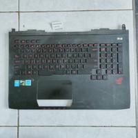 TOPCASE KEYBOARD ASUS ROG G751 G751j Casing Bawah Kibot Laptop Gaming
