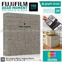 Album Dear Moment 100 Foto Fujifilm Polaroid Instax 8 9 90 SP 2R Etc