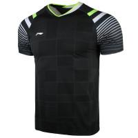 T-Shirt/Kaos/Jersey Badminton Player Li-Ning / LiNing AAYQ243-2 Black