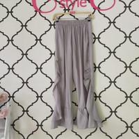 Celana Panjang Zifa Pants by Meemaa Style Grey